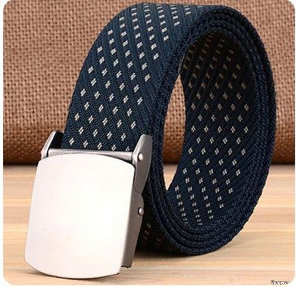 Chuyên bán dây nịt lính Mỹ US, dây nịt vải bố, thắt lưng vải mặt nhựa - 7