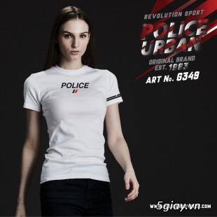 Bỏ SỈ/LẺ Áo Thun Police Bodysize Nam&Nữ - 58