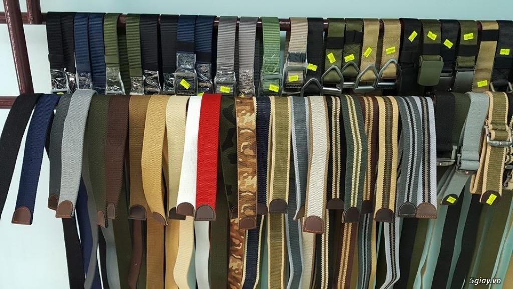 Chuyên bán dây nịt lính Mỹ US, dây nịt vải bố, thắt lưng vải mặt nhựa