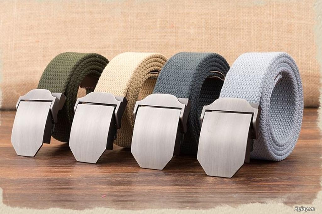 Chuyên bán dây nịt lính Mỹ US, dây nịt vải bố, thắt lưng vải mặt nhựa - 18