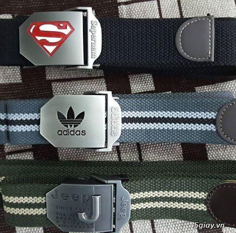 Chuyên bán dây nịt lính Mỹ US, dây nịt vải bố, thắt lưng vải mặt nhựa - 23