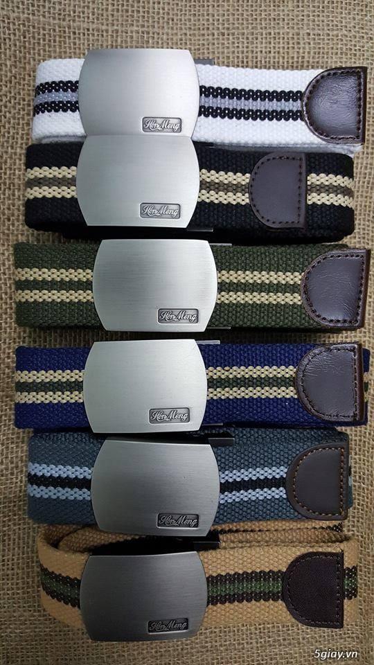 Chuyên bán dây nịt lính Mỹ US, dây nịt vải bố, thắt lưng vải mặt nhựa - 22
