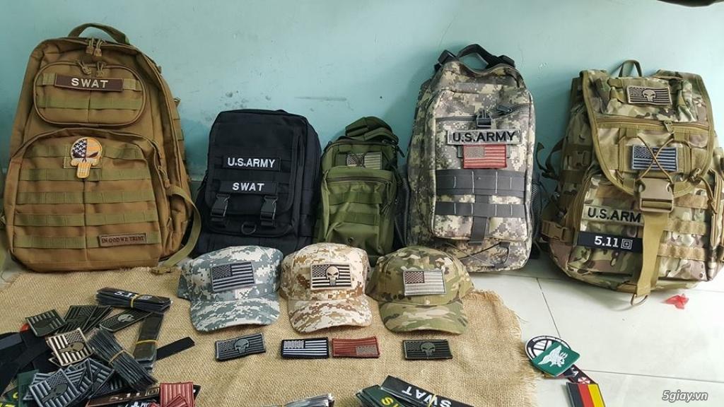 Chuyên bán dây nịt lính Mỹ US, dây nịt vải bố, thắt lưng vải mặt nhựa - 2
