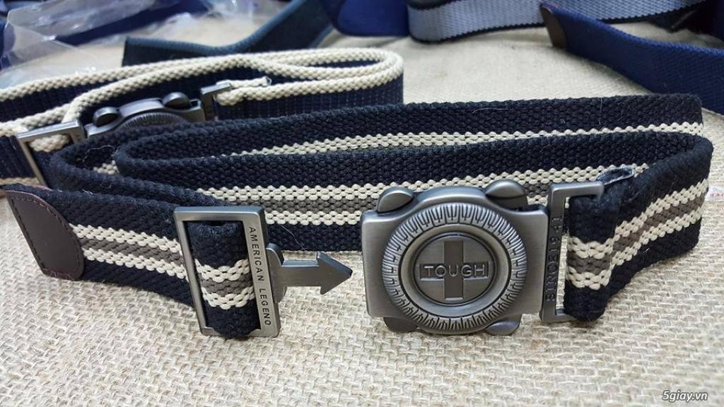 Chuyên bán dây nịt lính Mỹ US, dây nịt vải bố, thắt lưng vải mặt nhựa - 34