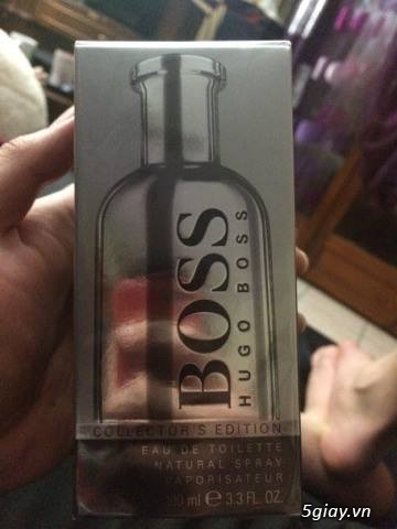 [HCM] Nước hoa Hugo Boss Collector's Edition và  guuuu Envy - 1