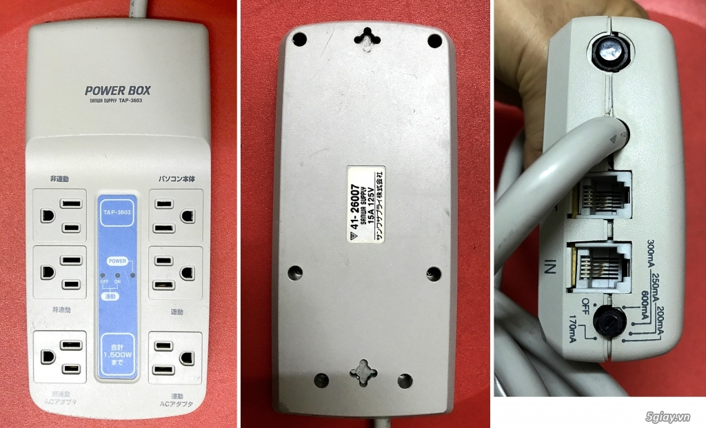 Box chống nhĩu/lọc điện,Biến áp cách li,DVD portable,LCD mini,ampli,loa,equalizer.... - 26