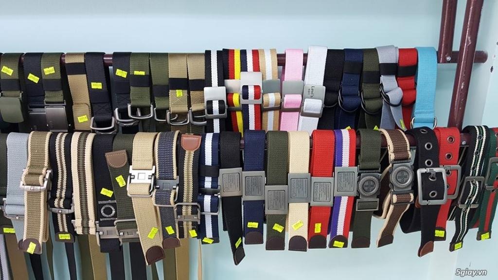 Chuyên bán dây nịt lính Mỹ US, dây nịt vải bố, thắt lưng vải mặt nhựa - 1