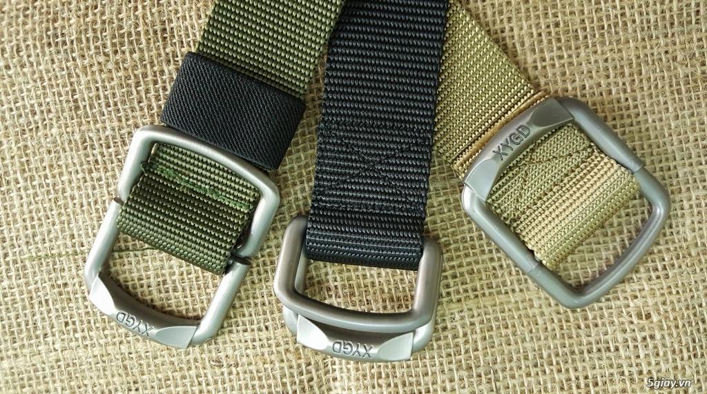 Chuyên bán dây nịt lính Mỹ US, dây nịt vải bố, thắt lưng vải mặt nhựa - 15