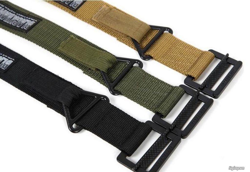 Chuyên bán dây nịt lính Mỹ US, dây nịt vải bố, thắt lưng vải mặt nhựa - 29
