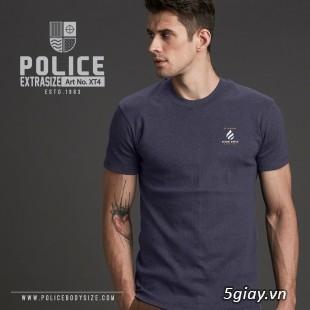 Bỏ SỈ/LẺ Áo Thun Police Bodysize Nam&Nữ - 7