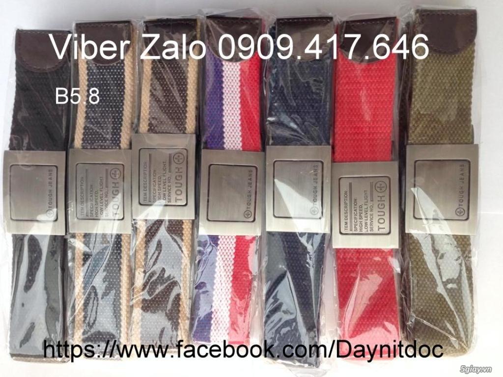 Chuyên bán dây nịt lính Mỹ US, dây nịt vải bố, thắt lưng vải mặt nhựa - 35