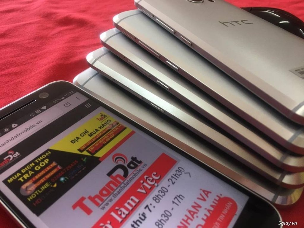 Htc 10 Ram 4G, Rom 32GB Hàng Zin 99% Nguyên bản Phụ kiện đầy đủ. - 4