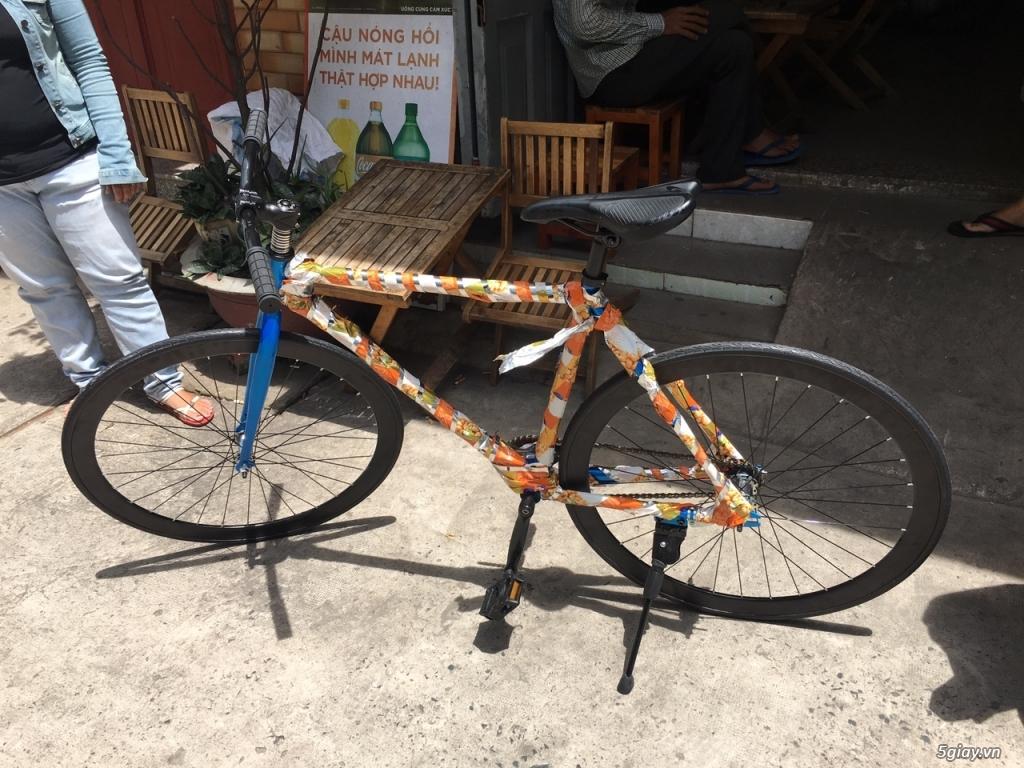 Xe đạp fixed gear... - 1