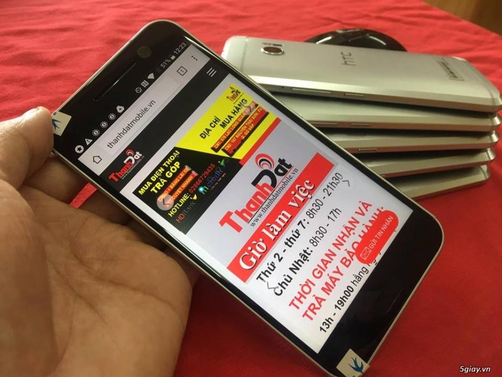 Htc 10 Ram 4G, Rom 32GB Hàng Zin 99% Nguyên bản Phụ kiện đầy đủ. - 2