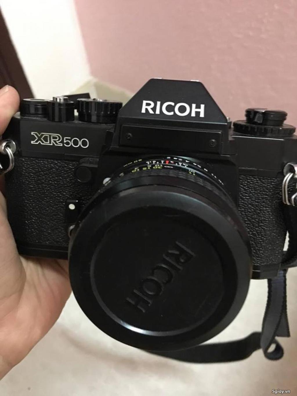 Máy ảnh film RICOH XR500 - 1