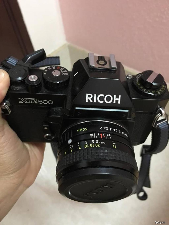 Máy ảnh film RICOH XR500 - 2