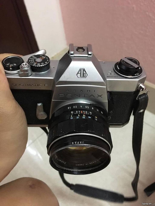 máy ảnh Pentax spotmatic F - 1