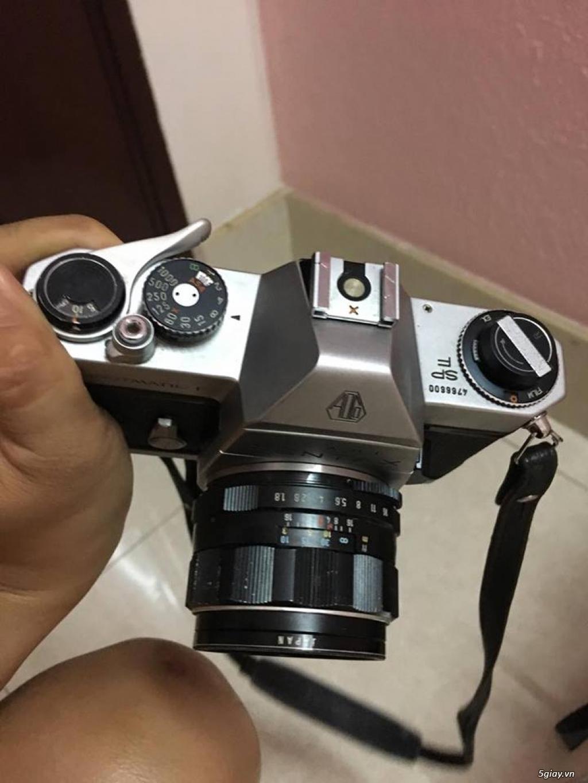 máy ảnh Pentax spotmatic F - 2