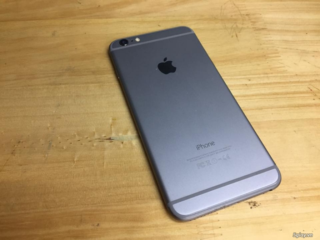 Bán iphone 6 plus 128gb grey lock AT&T likenew - 3