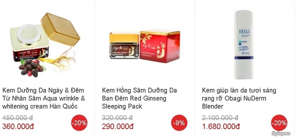 Tp.HCM - Đại lý cấp 1 giá gốc mỹ phẩm Hàn Quốc & Nhật Bản nhập khẩu - 4