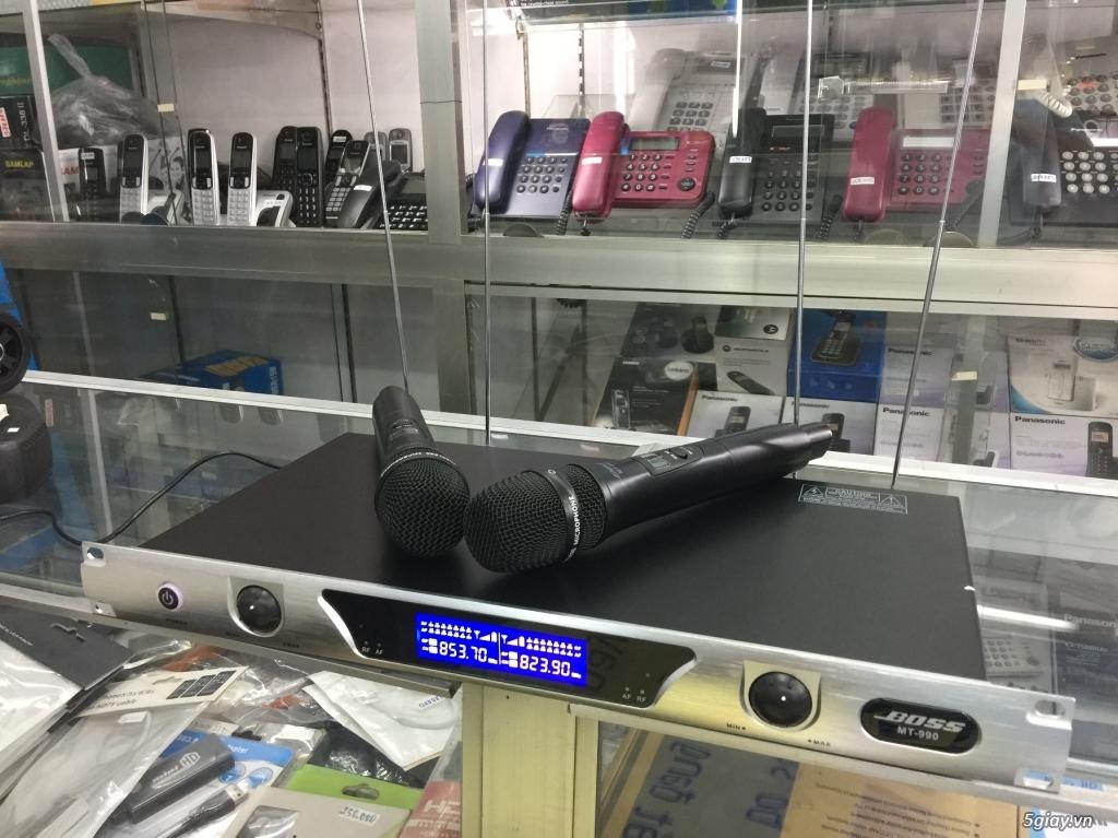 Micro không dây Boss MT-990, 4 anten, bắt sóng xa đến 70m - 3