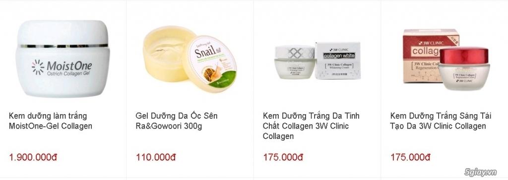 Tp.HCM - Đại lý cấp 1 giá gốc mỹ phẩm Hàn Quốc & Nhật Bản nhập khẩu - 3