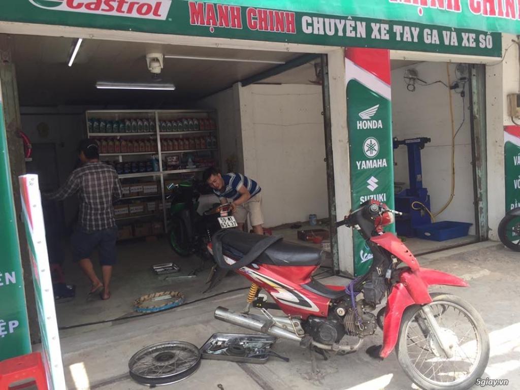 [TPHCM - Q.Bình Tân] Tuyễn thợ sửa xe máy và học nghề.. - 1