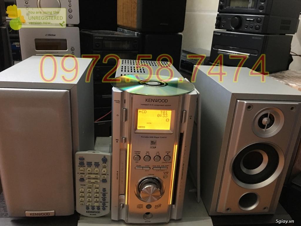 Dàn mini nội địa Nhật tuyển chọn, zin Nguyên bản điện 100v, giá hợp lý có BH. - 15