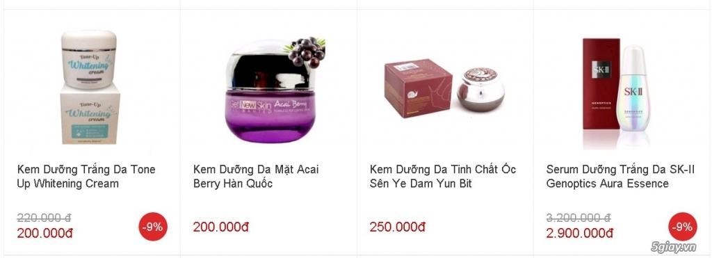 Tp.HCM - Đại lý cấp 1 giá gốc mỹ phẩm Hàn Quốc & Nhật Bản nhập khẩu - 5