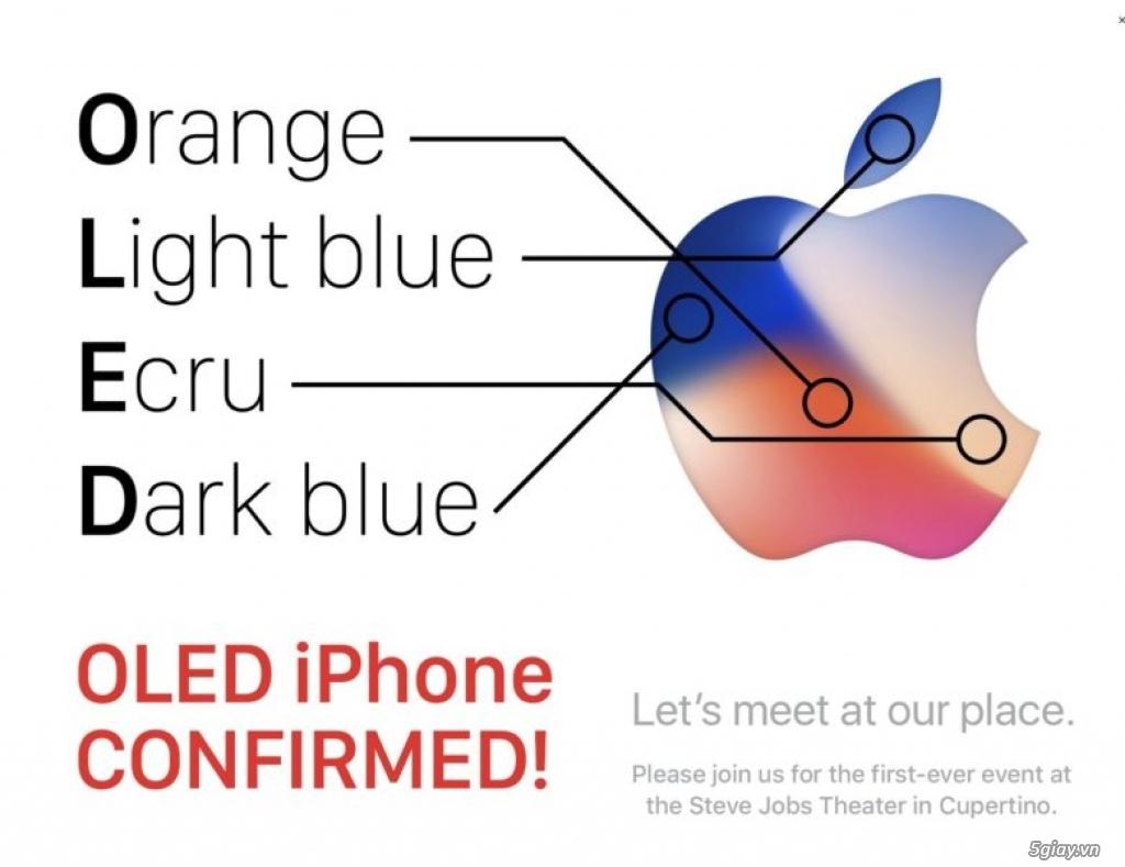 Thư mời ra mắt iPhone 8 chính thức - 203337