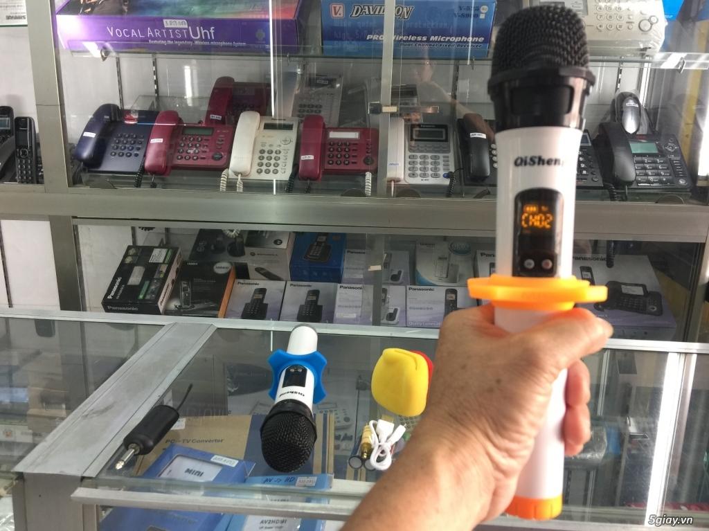 Micro  Qisheng QM-128 Micro không dây dành cho các loa kéo,mới 100% - 2
