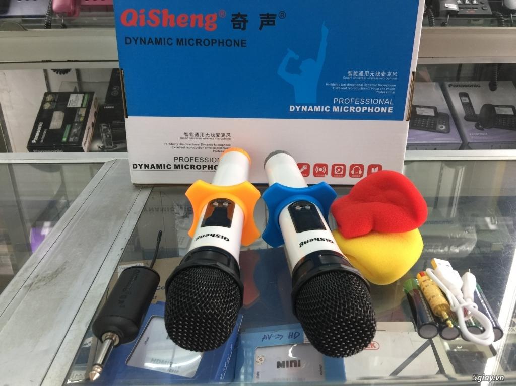 Micro  Qisheng QM-128 Micro không dây dành cho các loa kéo,mới 100%