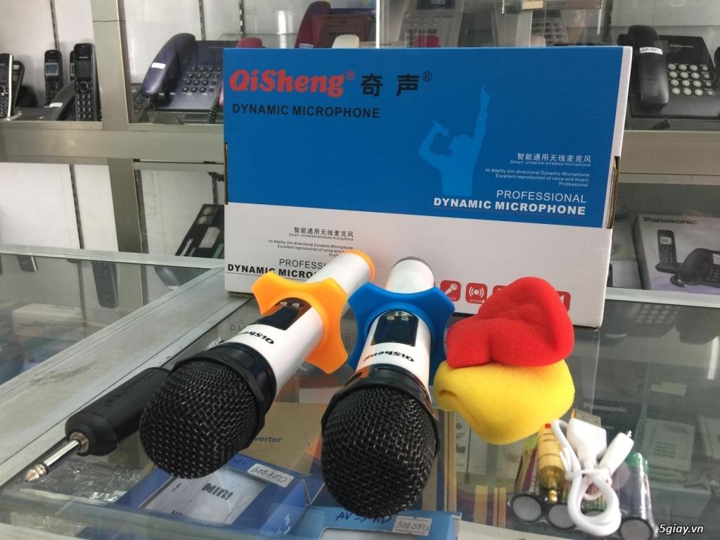 Micro  Qisheng QM-128 Micro không dây dành cho các loa kéo,mới 100% - 3