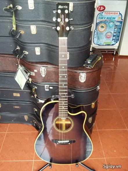 Acpoustic guitar Morris và Yamaha sản xuất tại Nhật