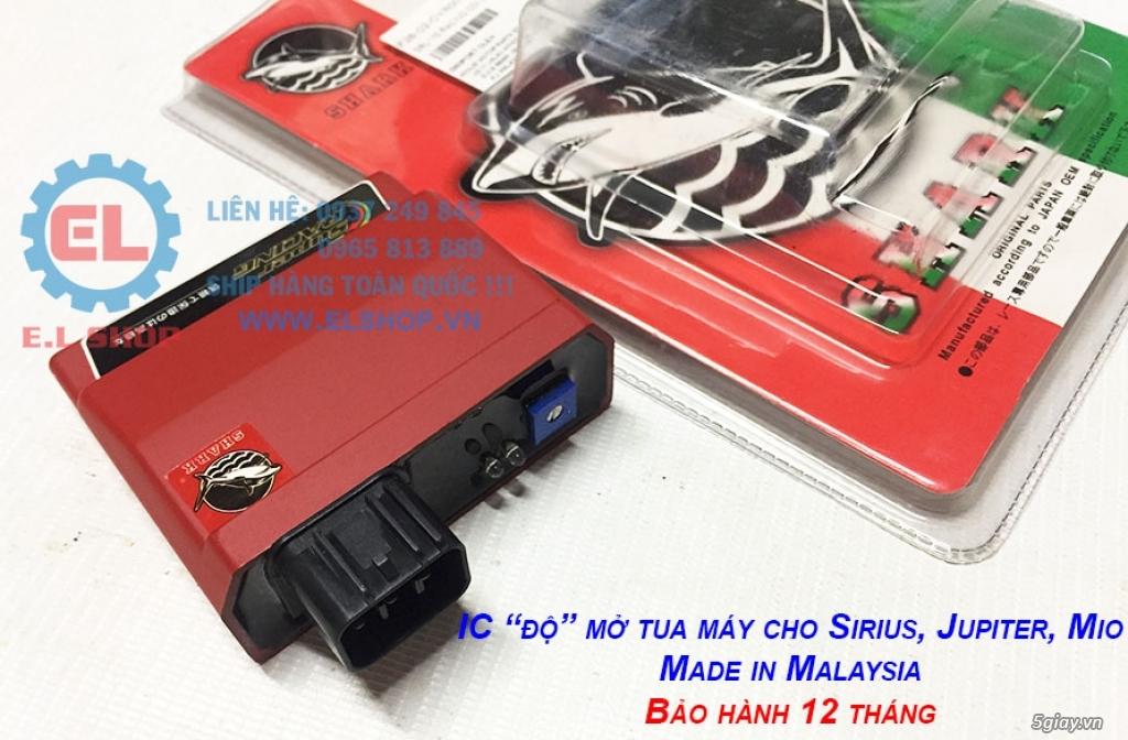 Phụ Tùng độ dàn lửa xe gắn máy: Mobin sườn, dây tăng áp, IC độ - mở giới hạn vòng tua - 16