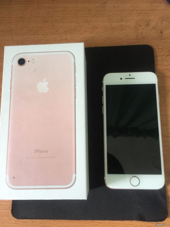biên hòa: cần bán iphone 7 rose 32gb fullbox