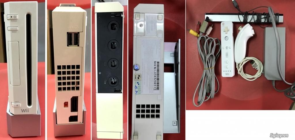 Bộ remote + Nunchuk cho Wii, Adaptor XBOX nhiều thứ linh kiện update thường xuyên... - 24