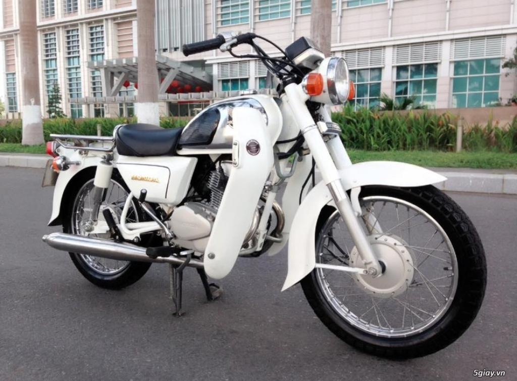 Honda CD 125 Benly CD 90 nhập khẩu Campuchia đẹp. - 2