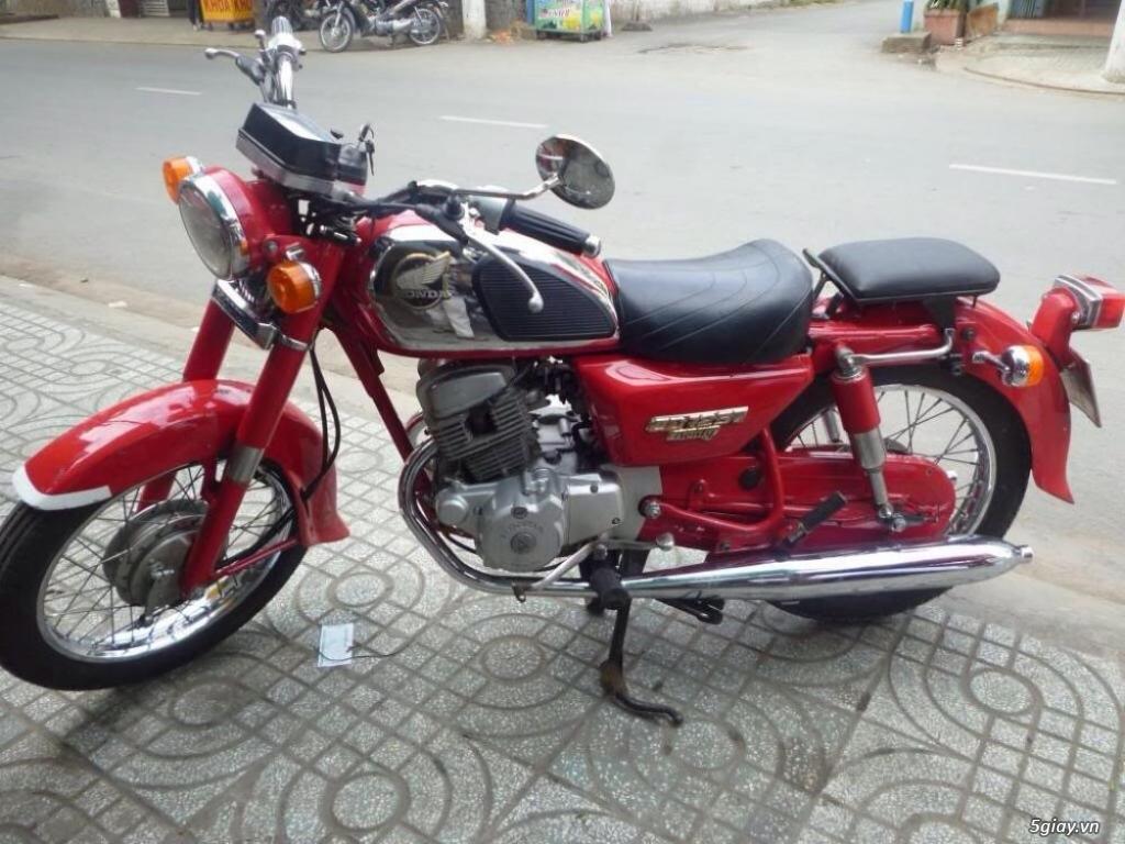 Honda CD 125 Benly CD 90 nhập khẩu Campuchia đẹp. - 1