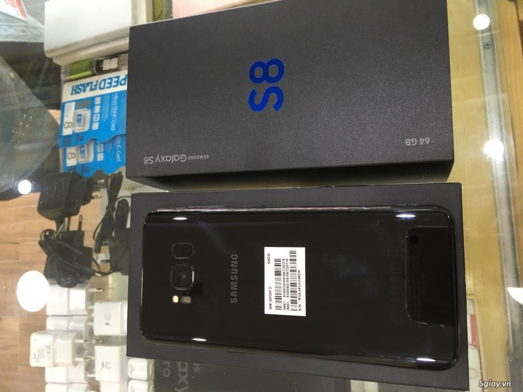 Bán Samsung s8, s8 plus (đen, vàng, tím Khói, xanh, bạc) chính hãng
