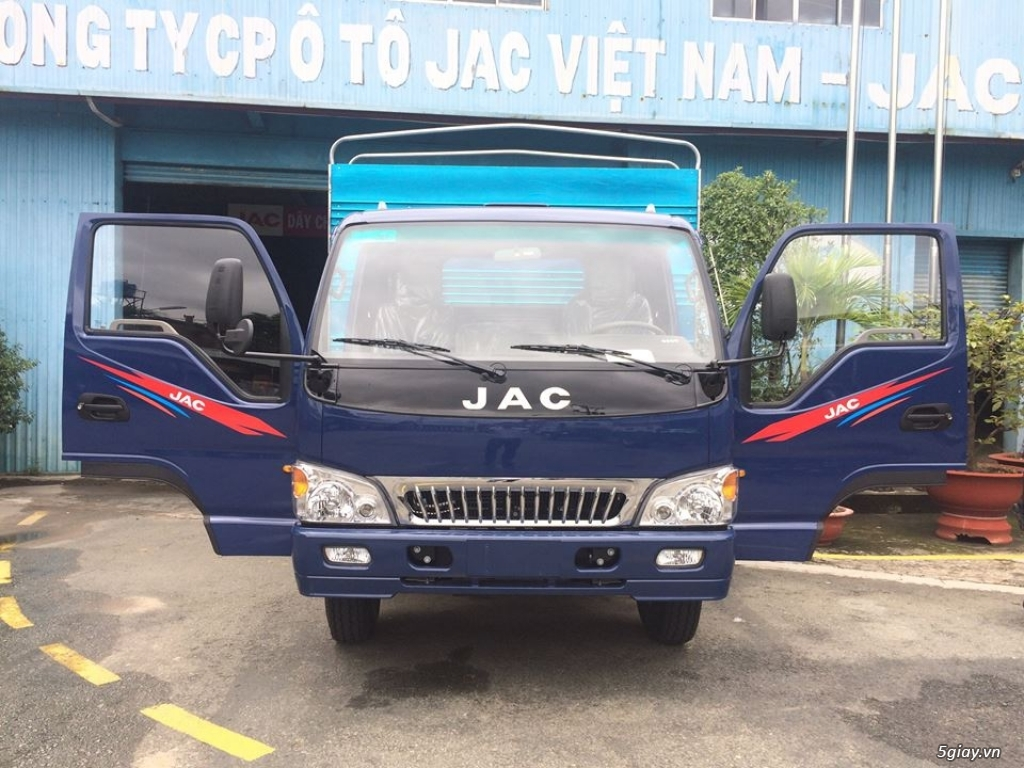Công ty bán xe tải Jac 7t25 thùng mui bạt giá tốt nhất, giao xe ngay - 6