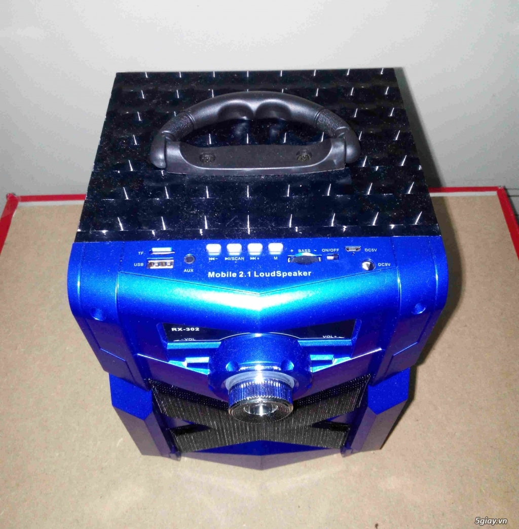 Loa Bluetooth Karaoke RX302 (mới 100%, tặng kèm micro) - 1