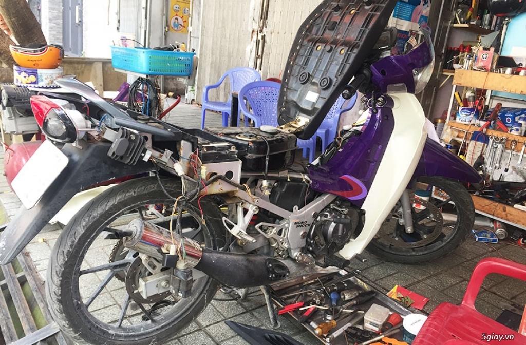 E.L SHOP Đèn led siêu sáng xe mô tô: XHP50, XHP70 i7, Cree, Philips Lumiled,Gương cầu LED xe gắn máy - 5