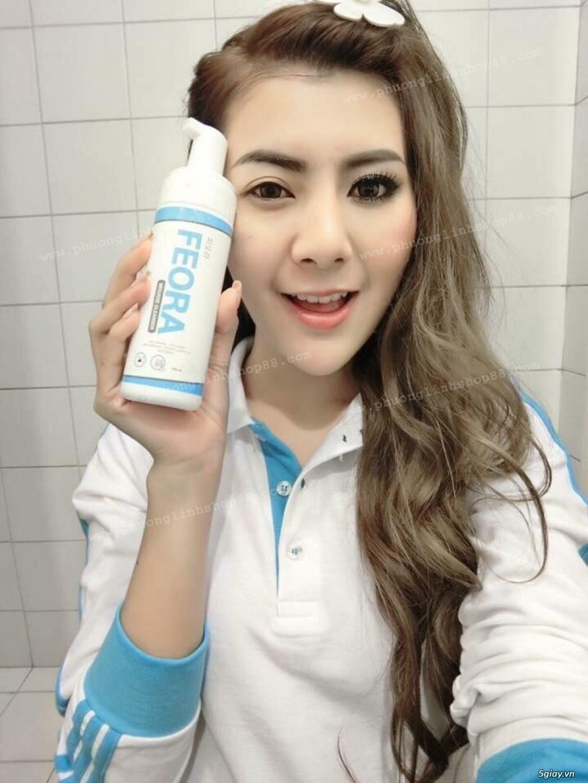 Sữa Rửa Mặt Tạo Bọt Dạng Xịt Mousse Cleanser Feora_SiêuPhẩm từ HànQuốc - 72