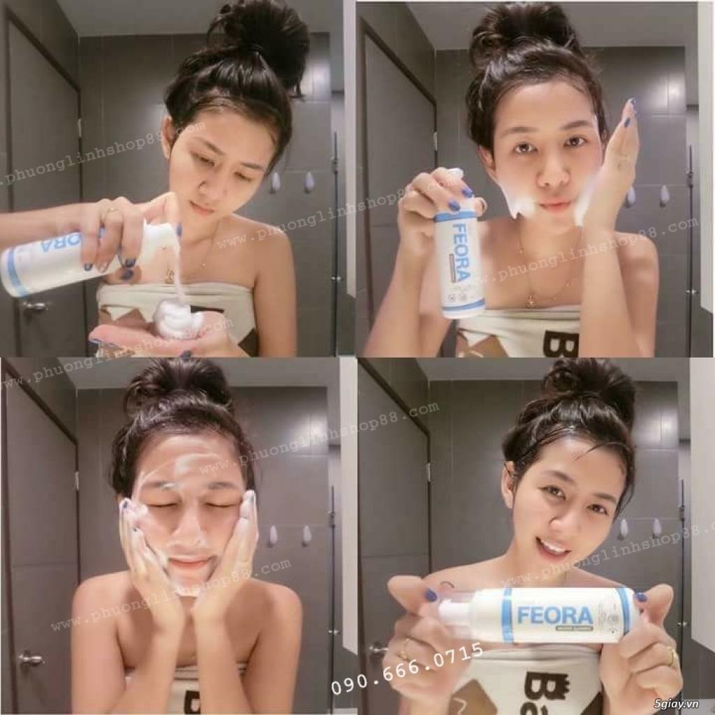 Sữa Rửa Mặt Tạo Bọt Dạng Xịt Mousse Cleanser Feora_SiêuPhẩm từ HànQuốc - 20