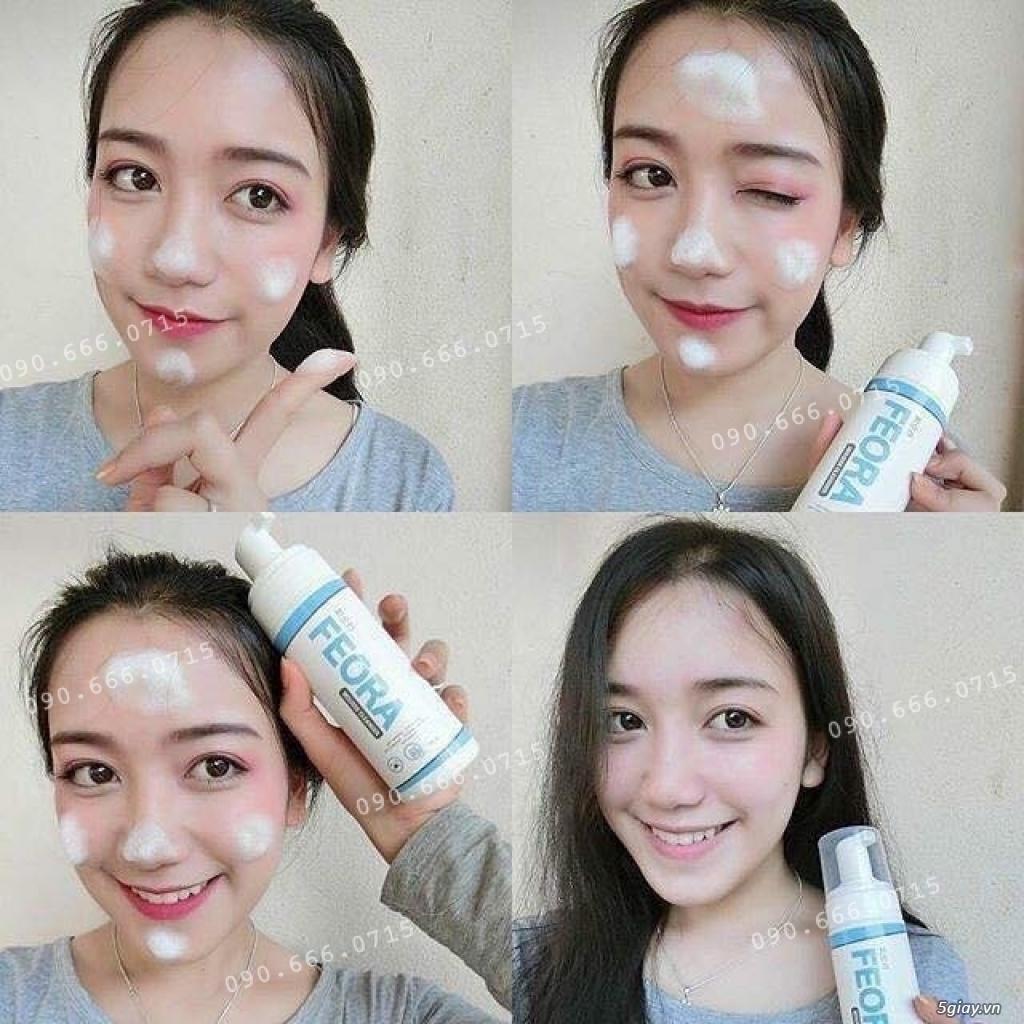 Sữa Rửa Mặt Tạo Bọt Dạng Xịt Mousse Cleanser Feora_SiêuPhẩm từ HànQuốc - 36