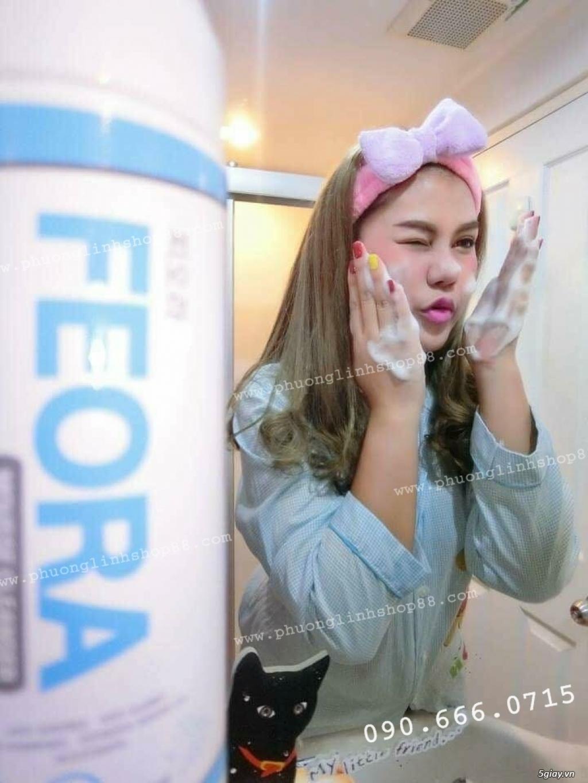 Sữa Rửa Mặt Tạo Bọt Dạng Xịt Mousse Cleanser Feora_SiêuPhẩm từ HànQuốc - 4