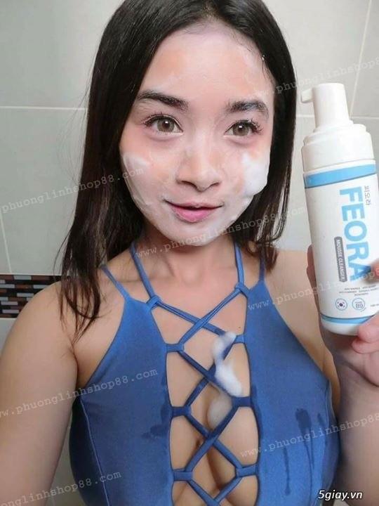 Sữa Rửa Mặt Tạo Bọt Dạng Xịt Mousse Cleanser Feora_SiêuPhẩm từ HànQuốc - 42