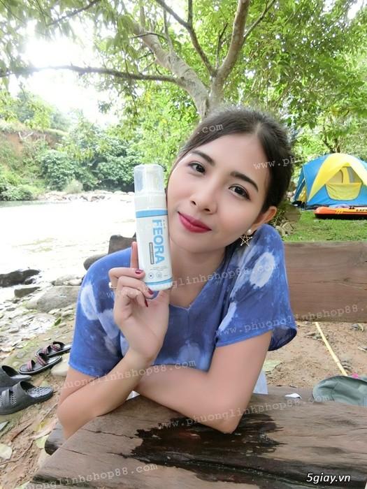 Sữa Rửa Mặt Tạo Bọt Dạng Xịt Mousse Cleanser Feora_SiêuPhẩm từ HànQuốc - 64