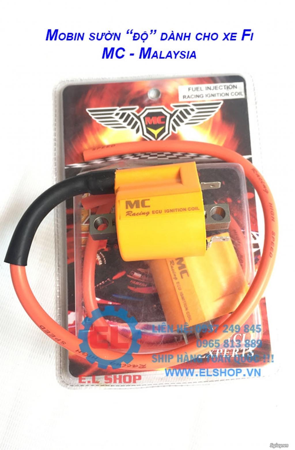 Phụ Tùng độ dàn lửa xe gắn máy: Mobin sườn, dây tăng áp, IC độ - mở giới hạn vòng tua - 7